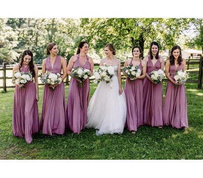 Multiway Infinity Wisteria Bridesmaid Dresses   Convertible Wedding Party Dress_3