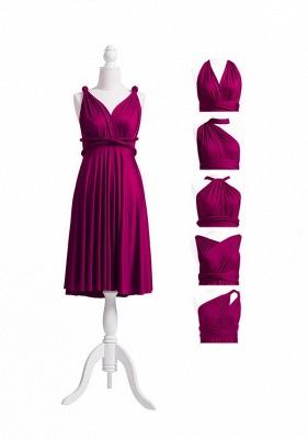 Plum Multiway Infinity Bridesmaid Dresses | Convertible Wedding Party Dress_5