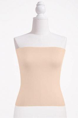 Bandeau Bikini Top for Women Solid Crop Bandeau Top_4