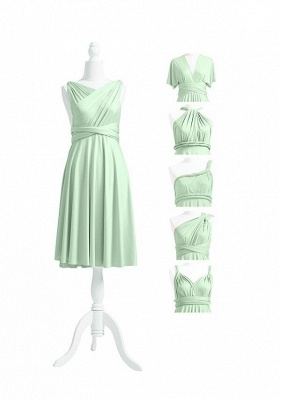Sage Green Multiway Infinity Bridesmaid Dresses   Convertible Wedding Party Dress_5
