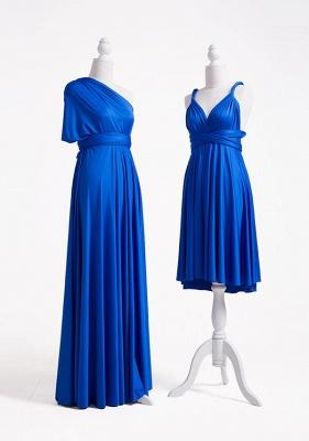 Royal Blue Multiway Infinity Bridesmaid Dresses | Convertible Wedding Party Dress_4