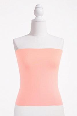 Bandeau Bikini Top for Women Solid Crop Bandeau Top_1