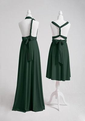 Dark Green Multiway Infinity Bridesmaid Dresses   Convertible Wedding Party Dress_5