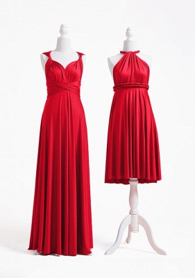 Red Multiway Infinity Bridesmaid Dresses   Convertible Wedding Party Dress_3