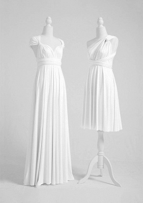 White Multiway Infinity Bridesmaid Dresses | Convertible Wedding Party Dress_3