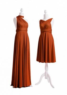 Burnt Orange Multiway Infinity Bridesmaid Dresses   Convertible Wedding Party Dress_3