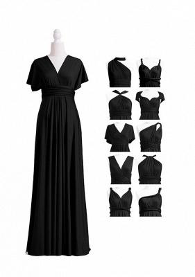 Black Multiway Infinity Bridesmaid Dresses | Convertible Wedding Party Dress_4