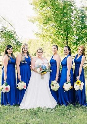 Royal Blue Multiway Infinity Bridesmaid Dresses | Convertible Wedding Party Dress_1