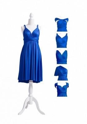 Royal Blue Multiway Infinity Bridesmaid Dresses | Convertible Wedding Party Dress_7