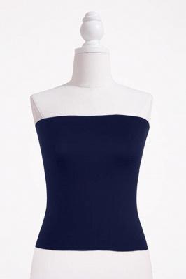 Bandeau Bikini Top for Women Solid Crop Bandeau Top_9