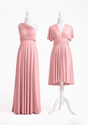 Dusty Rose Multiway Infinity Bridesmaid Dresses | Convertible Wedding Party Dress_2