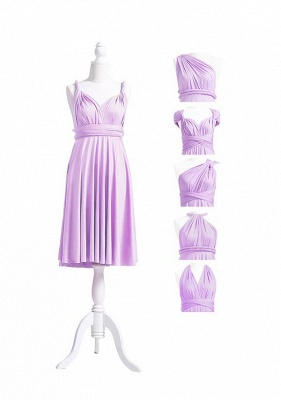 Lavender Multiway Infinity Bridesmaid Dresses | Convertible Wedding Party Dress_5