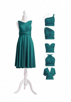 Teal Multiway Infinity Bridesmaid Dresses | Convertible Wedding Party Dress_7