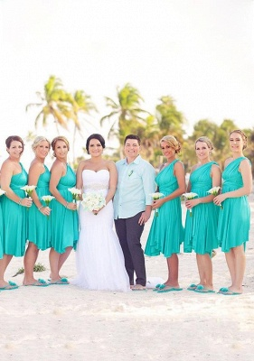 Turquoise Multiway Infinity Bridesmaid Dresses | Convertible Wedding Party Dress