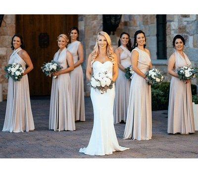Multiway Infinity Short Bridesmaid Dresses   Convertible Wedding Party Dress_4