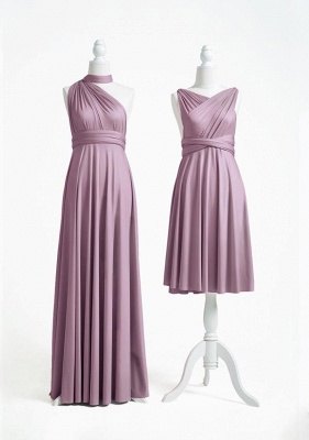 Mauve Multiway Infinity Bridesmaid Dresses   Convertible Wedding Party Dress_2