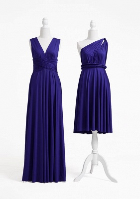 Midnight Blue Multiway Infinity Bridesmaid Dresses   Convertible Wedding Party Dress_2
