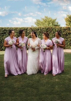Lavender Multiway Infinity Bridesmaid Dresses | Convertible Wedding Party Dress