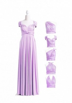 Lavender Multiway Infinity Bridesmaid Dresses | Convertible Wedding Party Dress_4