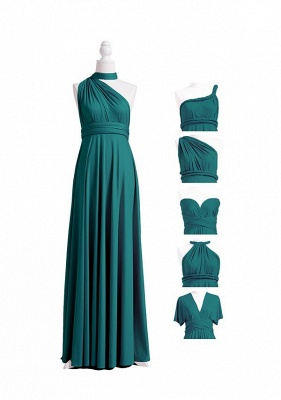 Teal Multiway Infinity Bridesmaid Dresses | Convertible Wedding Party Dress_6