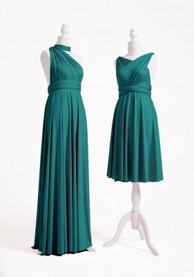 Teal Multiway Infinity Bridesmaid Dresses | Convertible Wedding Party Dress_5