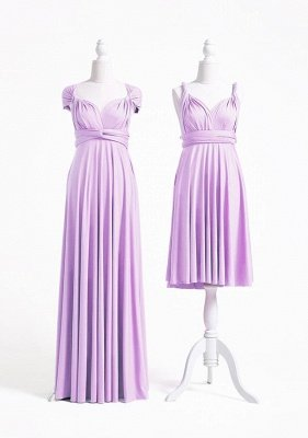 Lavender Multiway Infinity Bridesmaid Dresses | Convertible Wedding Party Dress_2