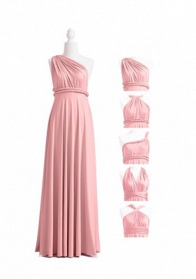 Dusty Rose Multiway Infinity Bridesmaid Dresses | Convertible Wedding Party Dress_4