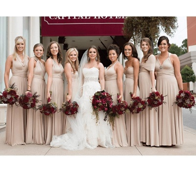 Multiway Infinity Short Bridesmaid Dresses   Convertible Wedding Party Dress_3