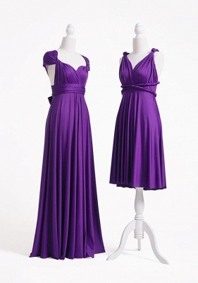 Purple Multiway Infinity Bridesmaid Dresses | Convertible Wedding Party Dress_3