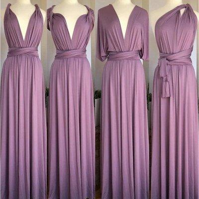 Mauve Multiway Infinity Bridesmaid Dresses   Convertible Wedding Party Dress_4