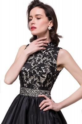 CECILIA | A-line Halter Lace Party Dress_9