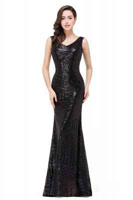 Cheap Elegant Mermaid Prom Dress Beaded Backless Evening Dress in Stock_8