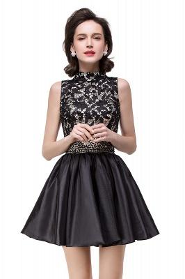 CECILIA | A-line Halter Lace Party Dress_4