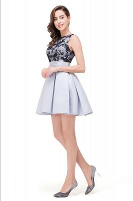 FELICITY | A-Line Crew Sleeveless Short Appliques Prom Dresses_7