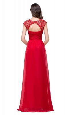 EMMELINE | Affordable A-Line Cap Sleeves Floor-Length Chiffon Prom Dresses_5