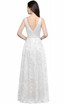AVIANA | A-line Scoop Lace Elegant Evening Dress_4