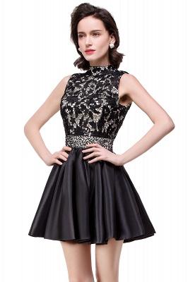 CECILIA | A-line Halter Lace Party Dress_5