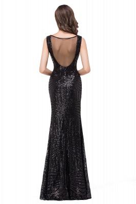 Cheap Elegant Mermaid Prom Dress Beaded Backless Evening Dress in Stock_6