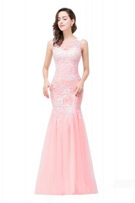 Long Lace Mermaid Sleeveless Maxi Prom Dress_11