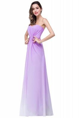 ADRIENNE | A-line Strapless Chiffon Bridesmaid Dress_6