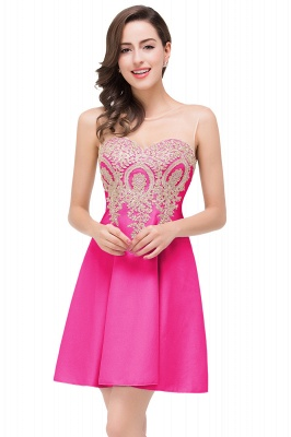 ESTHER | A-line Sleeveless Appliques Chiffon Short Prom Dresses_2