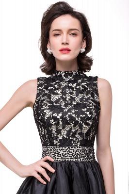 CECILIA | A-line Halter Lace Party Dress_8
