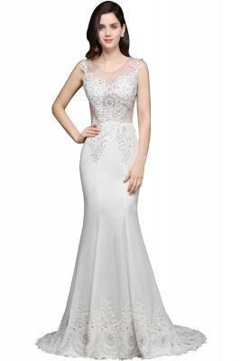 ARIYAH   Mermaid Scoop Black Pretty Evening Dresses with Appliques_1