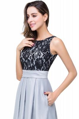 ELLIE | Elegant A-line Floor-length Crew Chiffon Lace Bridesmaid Dresses_10
