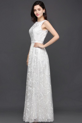 AVIANA | A-line Scoop Lace Elegant Evening Dress_6