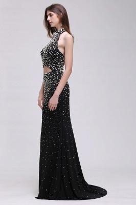 CADENCE | Mermaid Long Black Luxury Prom Dresses with Beading_5