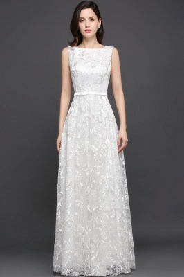 AVIANA | A-line Scoop Lace Elegant Evening Dress_3