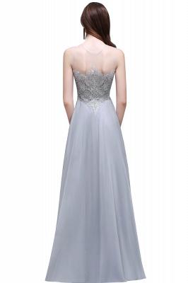 Cheap Gorgeous Lace Chiffon Long Prom Dress in Stock_3