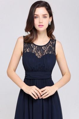 CHELSEA | Cheap Long Lace Prom Dress | Afforable Chiffon Lace Evening Dress_12