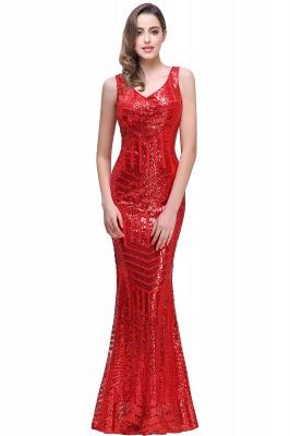 Cheap Elegant Mermaid Prom Dress Beaded Backless Evening Dress in Stock_1
